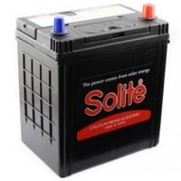 Аккумулятор Solite (44B19) 44 а/ч обратная полярность тонкие и стандарт выводы